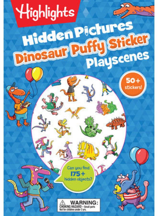 Dinoasaur Puffy Sticker Book