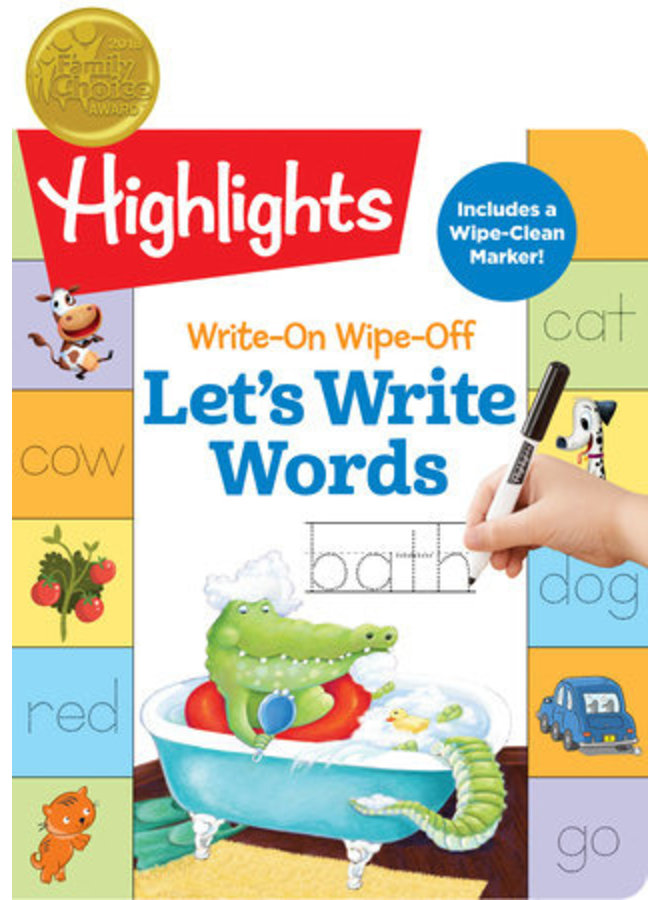 Wowo Let's Write Words Book