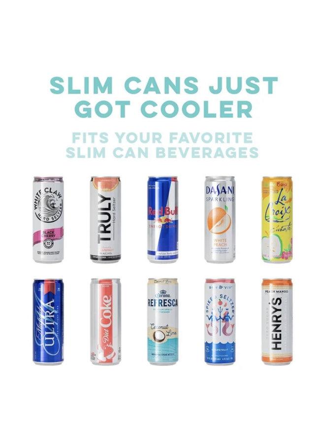 12oz Skinny Can Cooler - Jingle Jungle