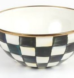 MacKenzie-Childs Courtly Check Enamel Everyday Bowl - Small