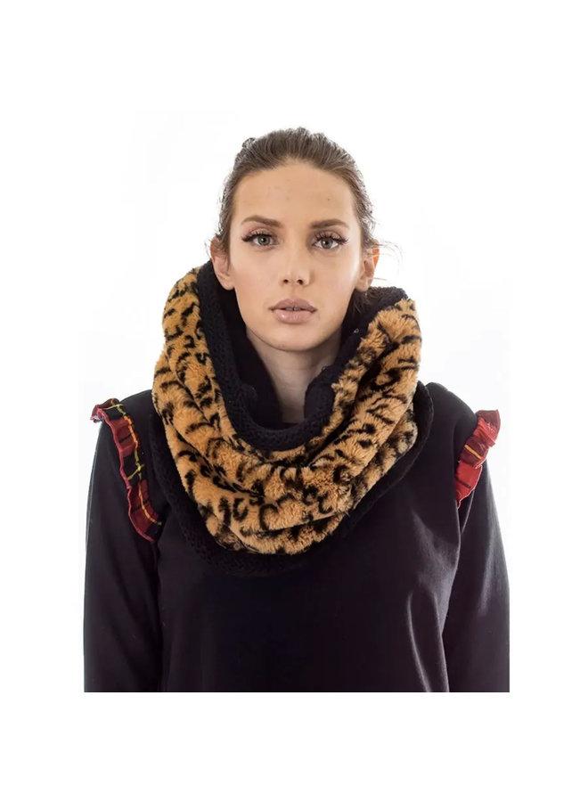 Reversible Cheetah Neckwarmer