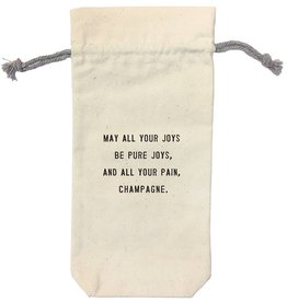 Sugarboo Designs May All Your Joys Wine Bag