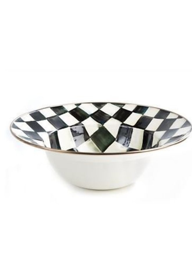 Courtly Check Serving Bowl