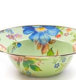 MacKenzie-Childs Flower Market Serving Bowl-Green