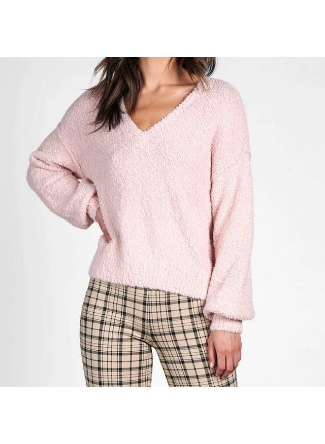 V-Neck Cozy Sweater