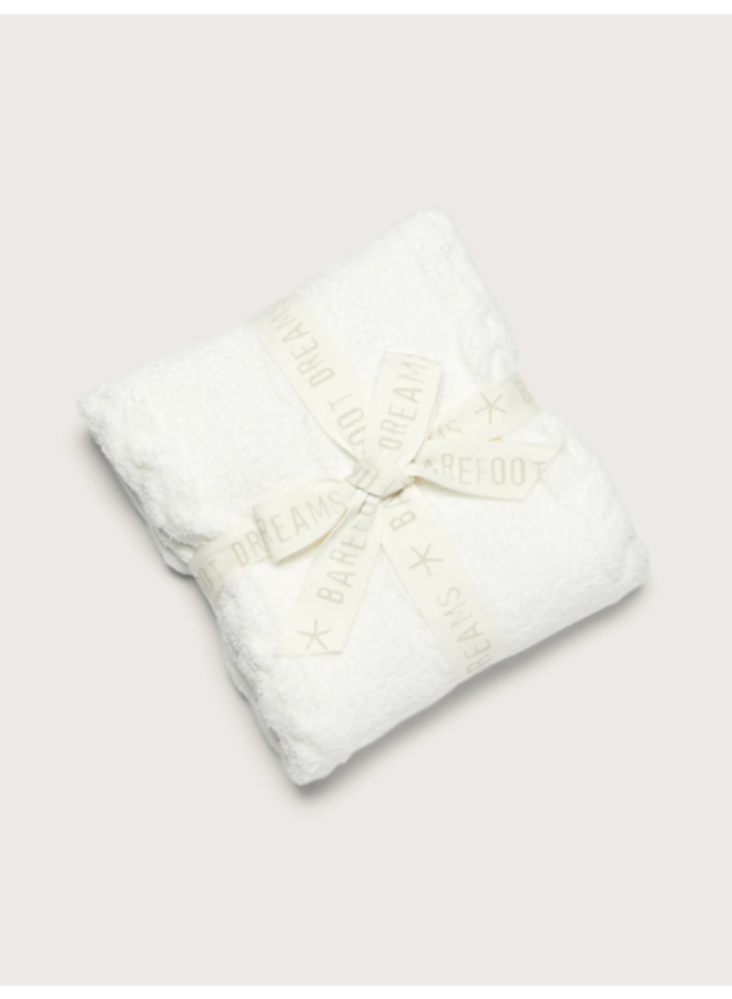 CozyChic Heathered Cable Baby Blanket