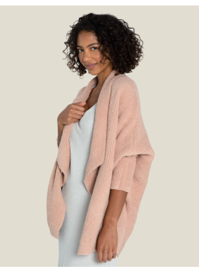 CozyChic Chevron Ribbed Cardigan -