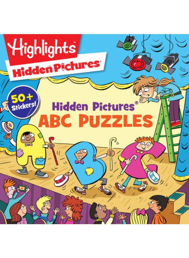 Hidden Pictures ABC Puzzle