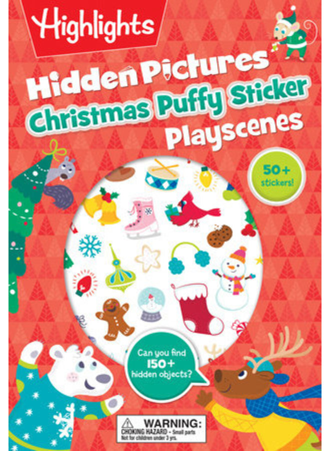 Christmas Puffy Sticker Book