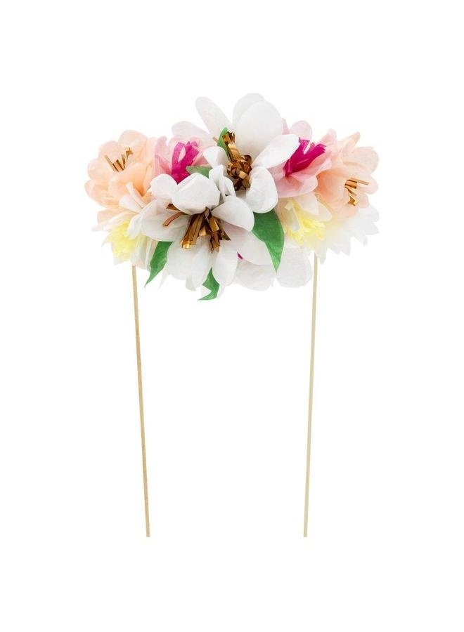 Flower Bouquet Cake Topper