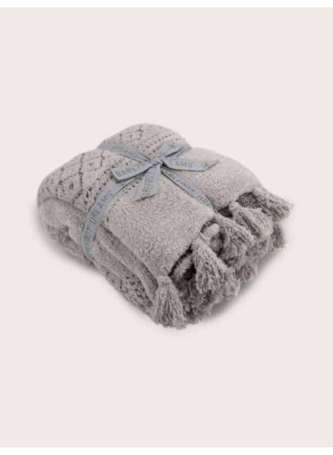 CozyChic Luxe Casa Throw - Oyster