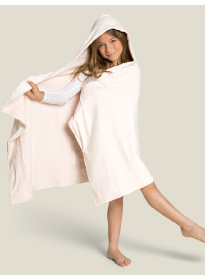 Kid's Hooded Towel - Pink