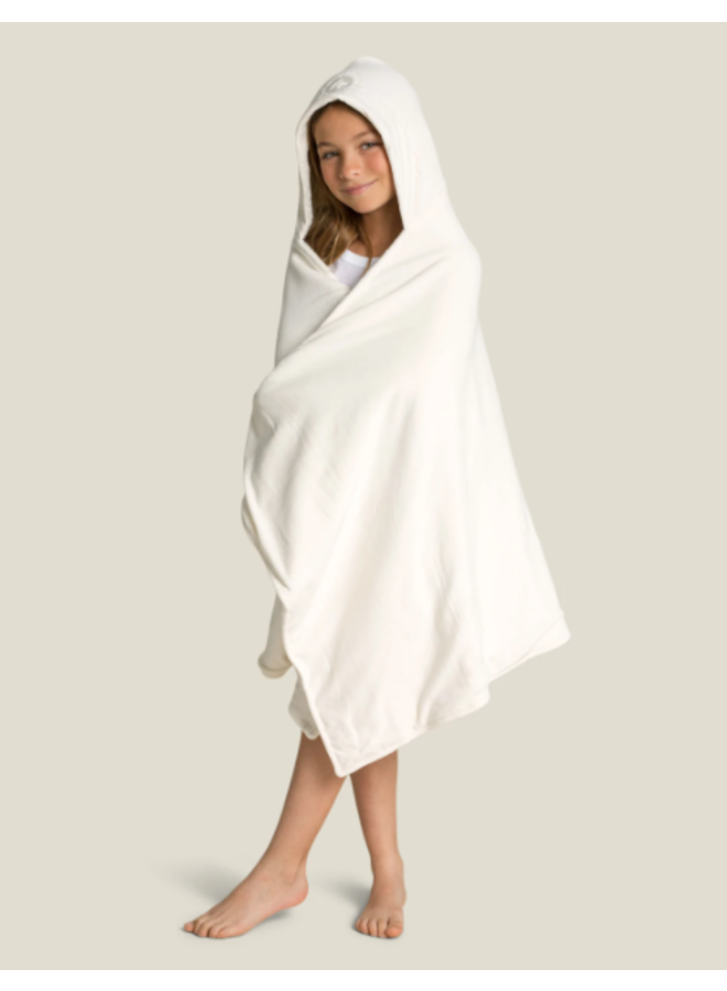 Kid's Hooded Towel - Cream