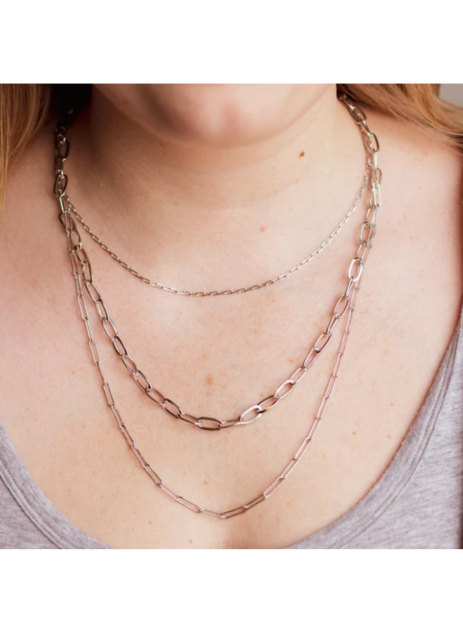 Kylie Necklace- Silver