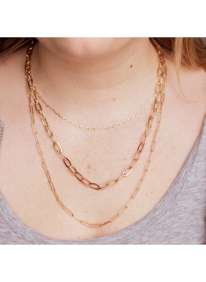 Kylie Necklace- Gold