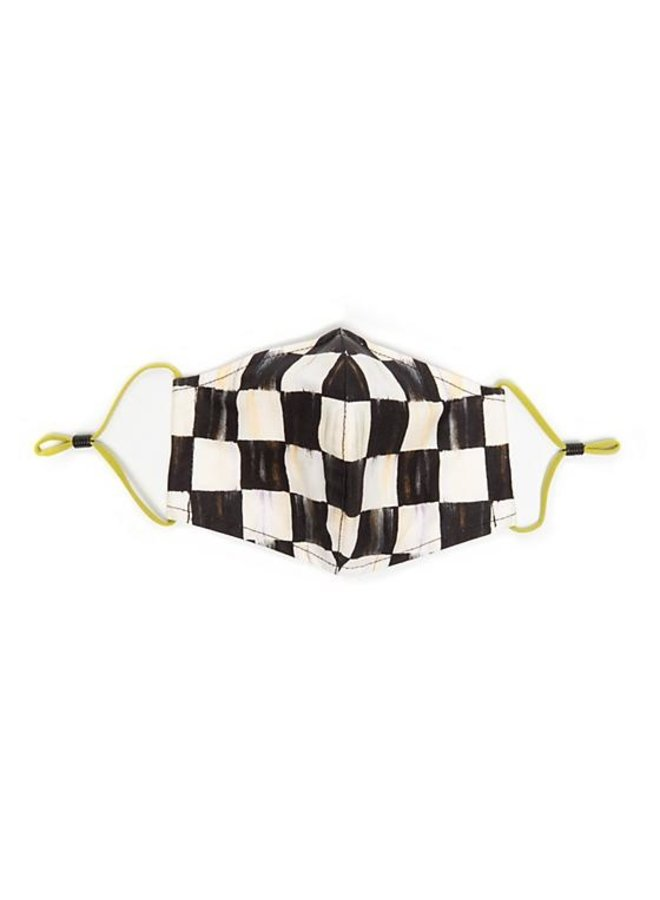 Courtly Check Face Mask- Cone