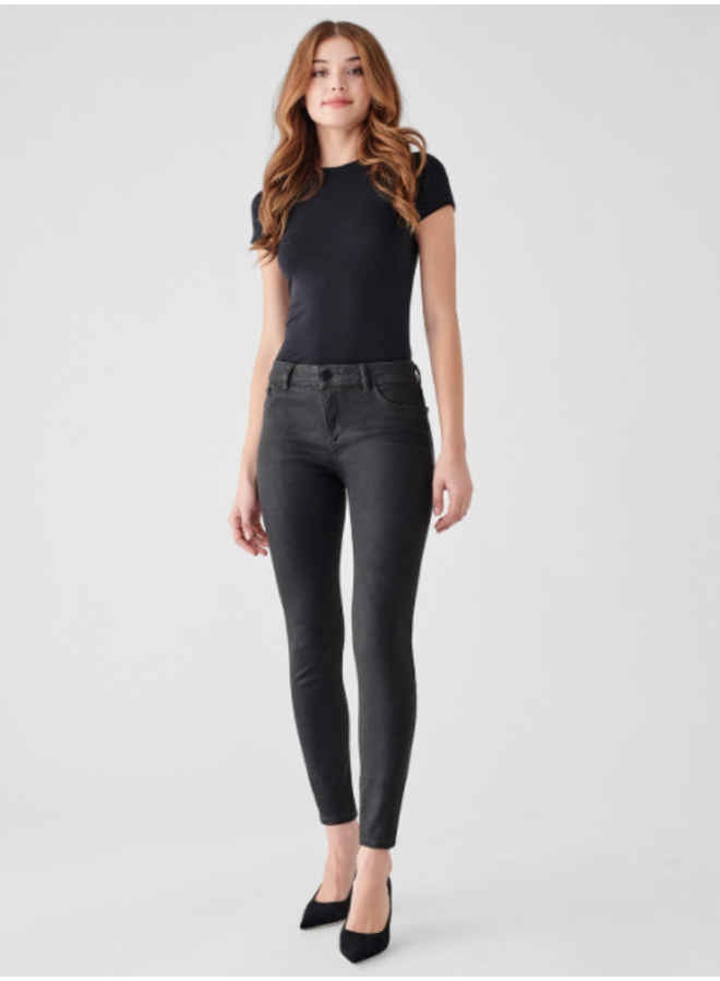 Florence Mid Rise Skinny Ankle-Pewter