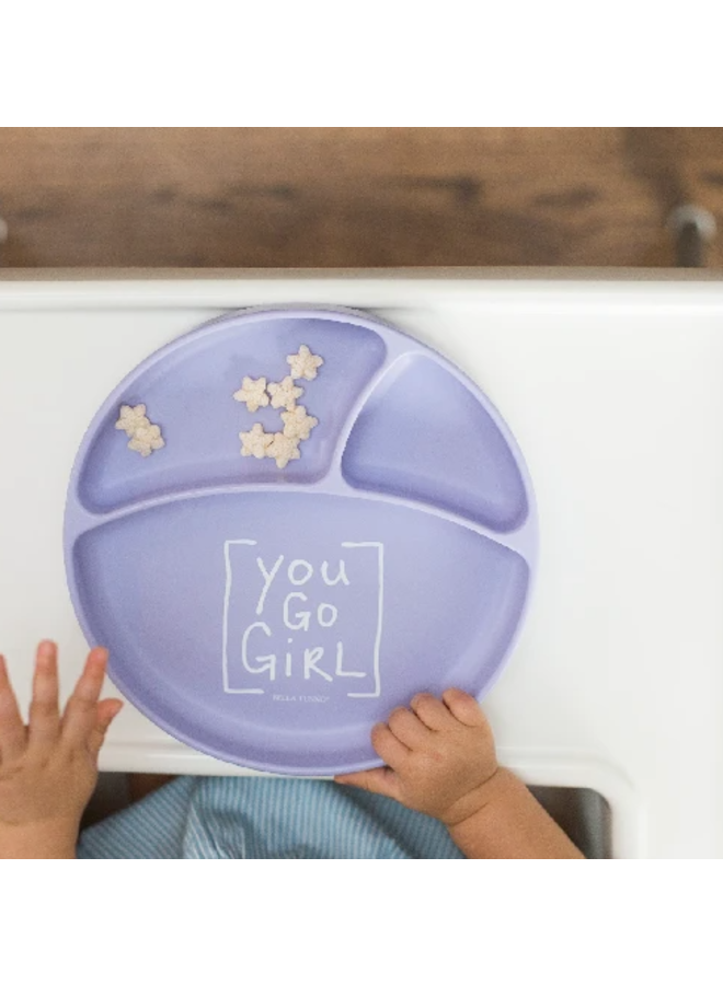 Wonder Plate-You Go Girl