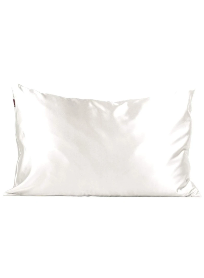 Standard Satin Pillowcase- Ivory