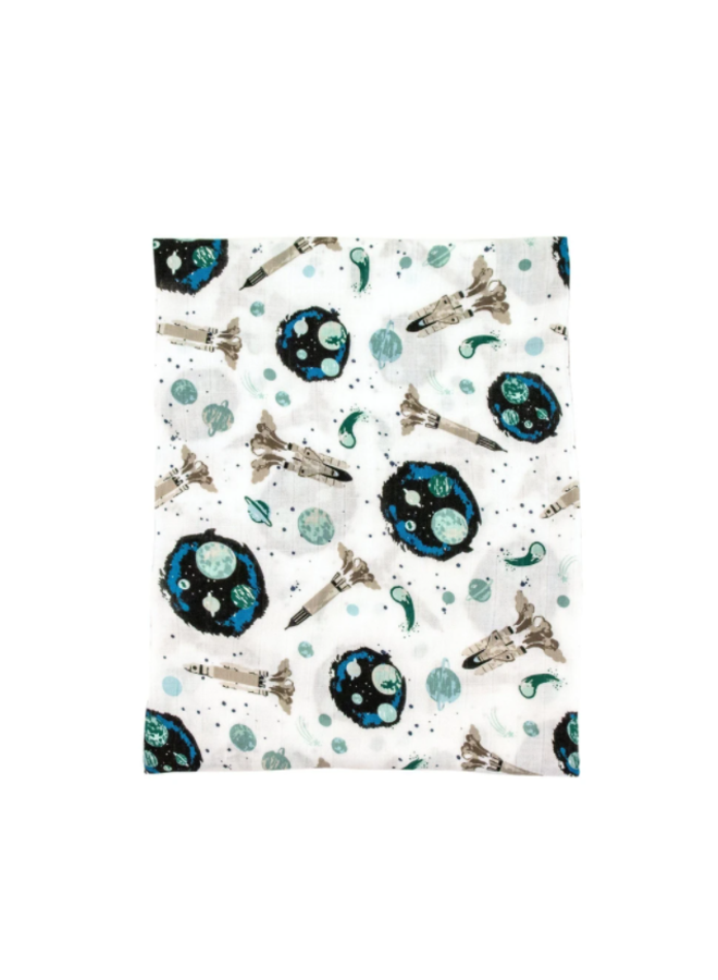 Space Oh-So-Soft Muslin Swaddle