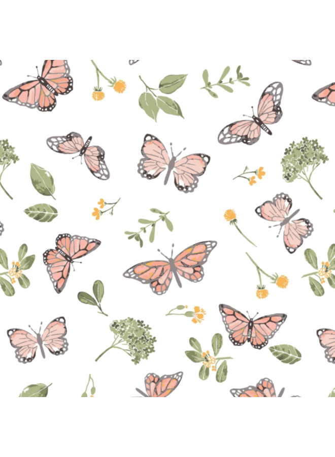 Butterfly Single Oh-So-Soft Swaddle