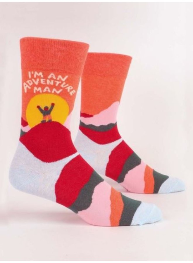 Men's Socks- Adventure Man