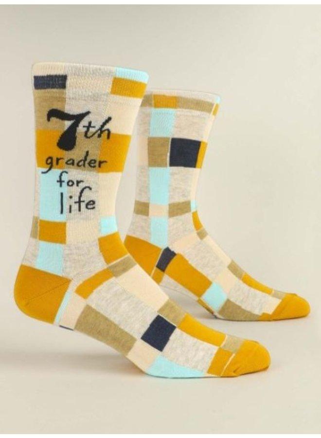 Men's Socks- 7th Grader For Life