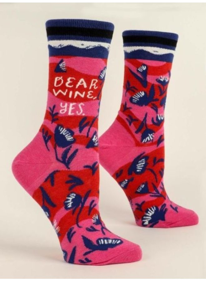 Women's Socks- Dear Wine