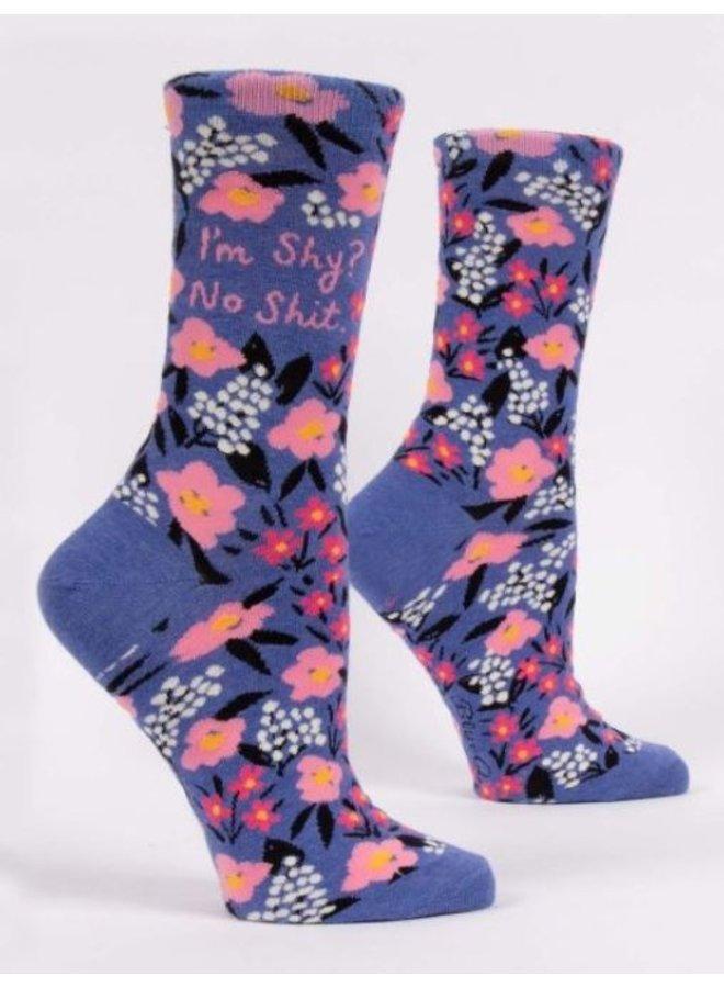 Women's Socks- I'm Shy No Shit