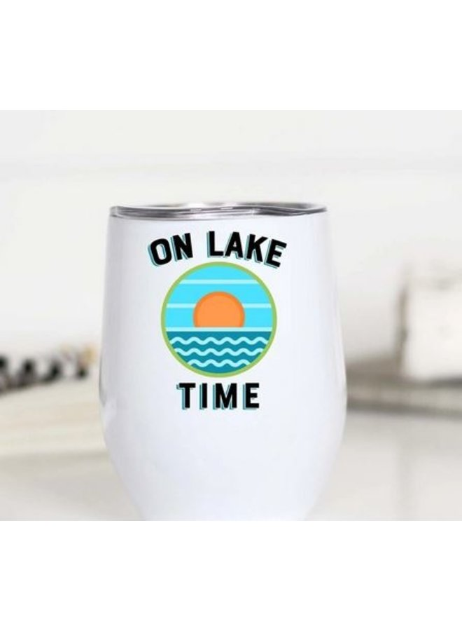 On Lake Time Wine Cup