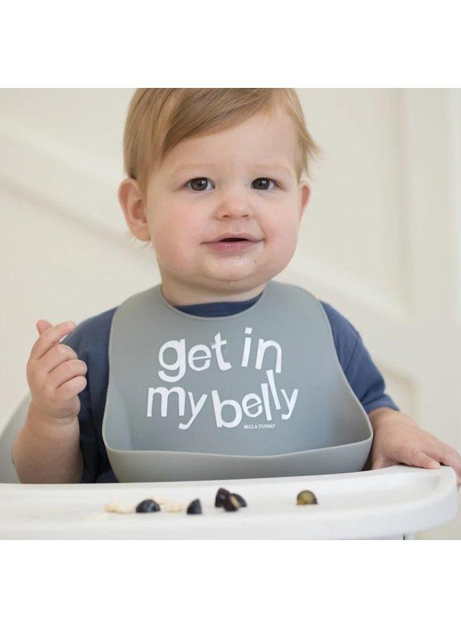 Get In My Belly Wonder Bib
