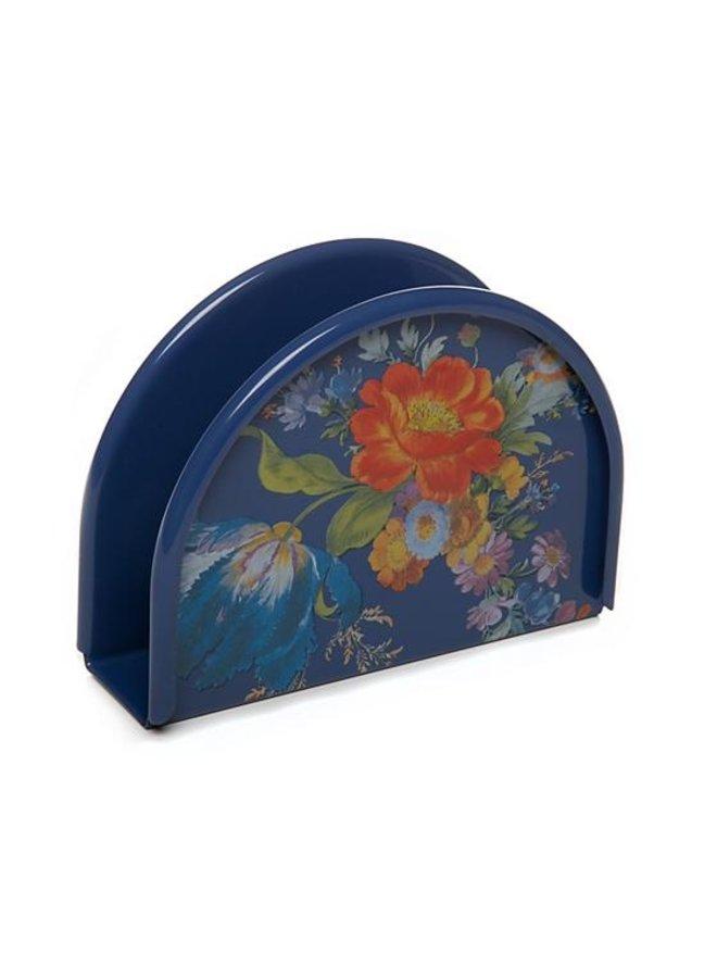 Flower Market Napkin Holder- Lapis
