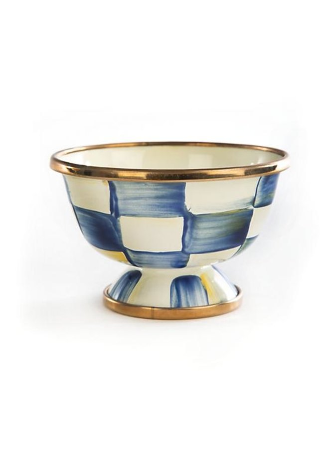Royal Check Enamel Little Sugar Bowl