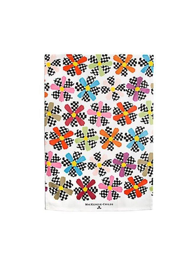 Cosmos Printed Dish Towel