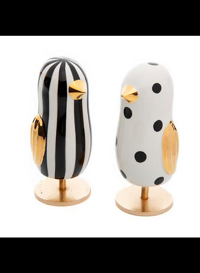 Mod Chick Figurines - Set of 2