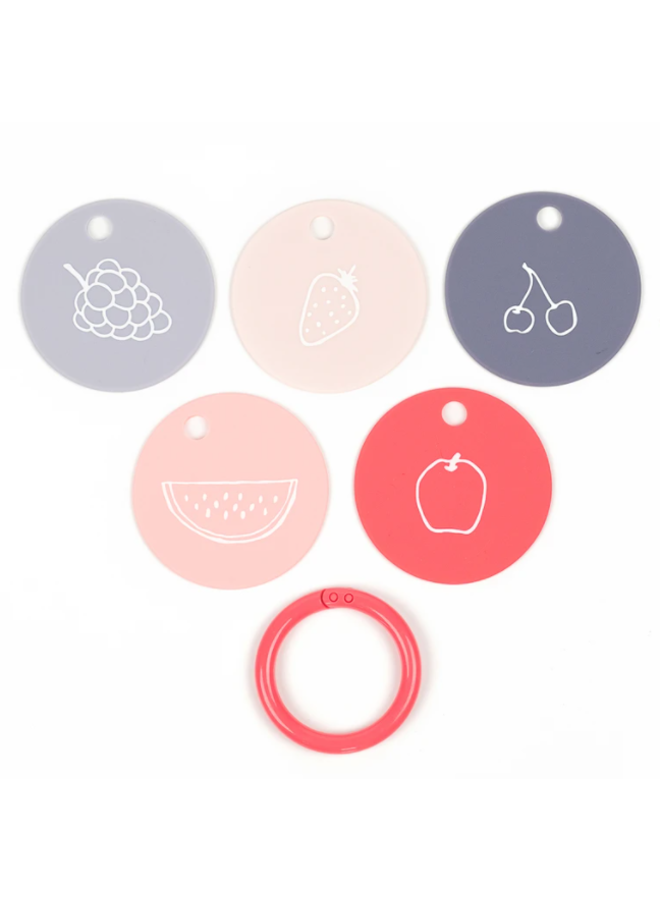 Fruit For Thought Teething Flashcards