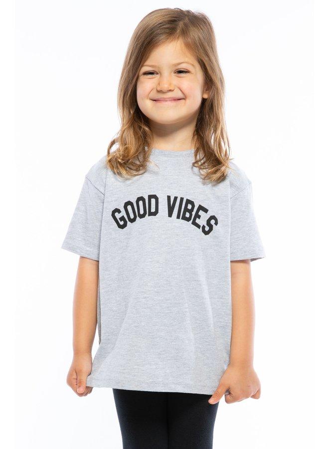 Good Vibes Toddler Loose Tee