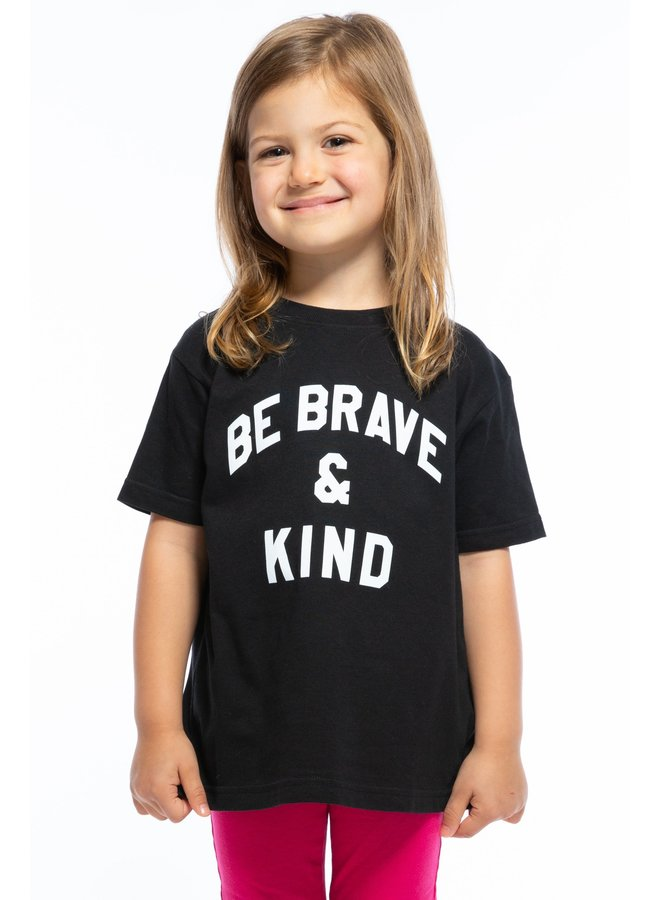 Be Brave and Kind Toddler Tee