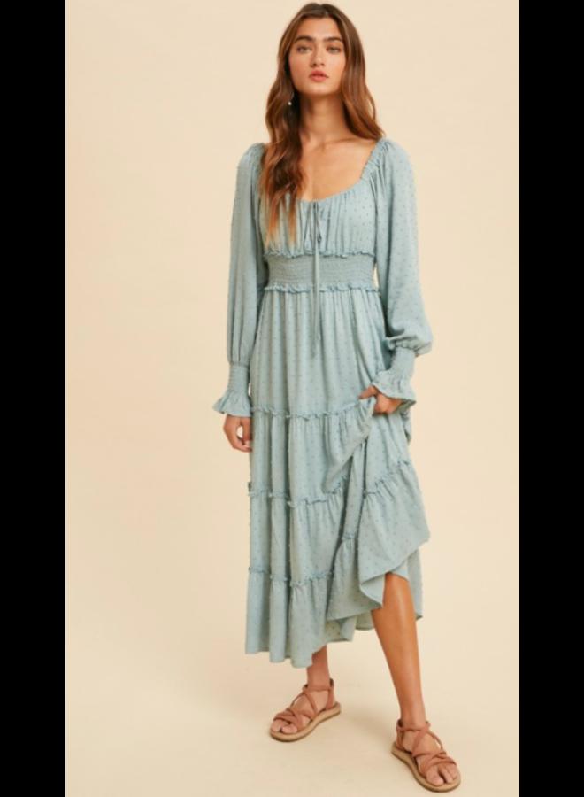 Daphne Swiss Dot Dress