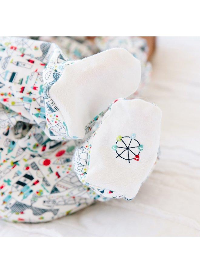 Fun Fair Cotton Magnetic Footie