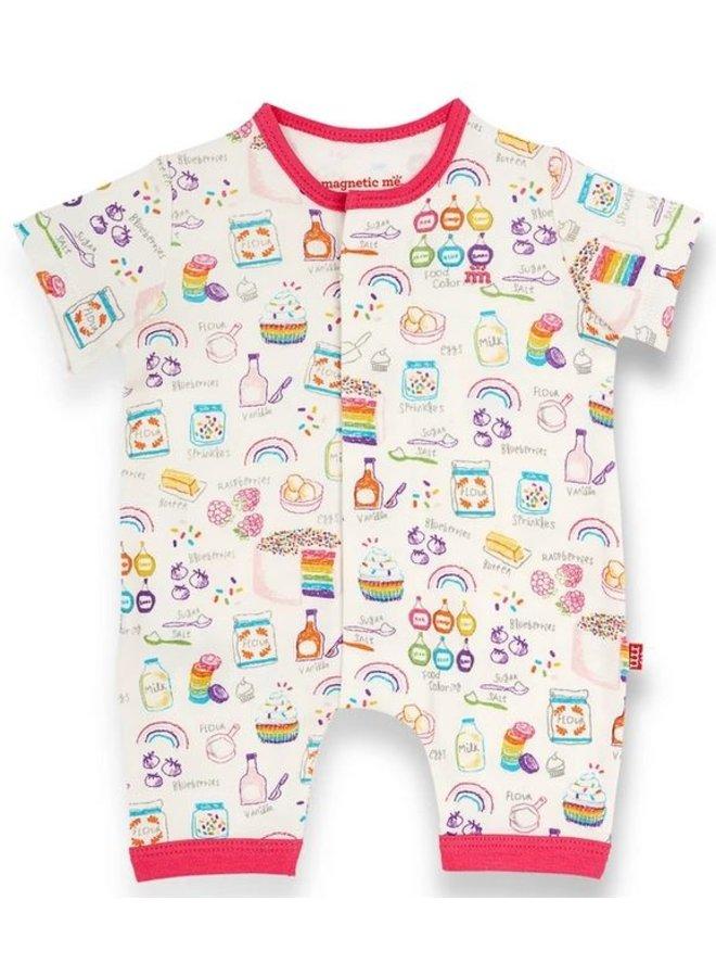 Rainbow Sprinkles Magntic Romper