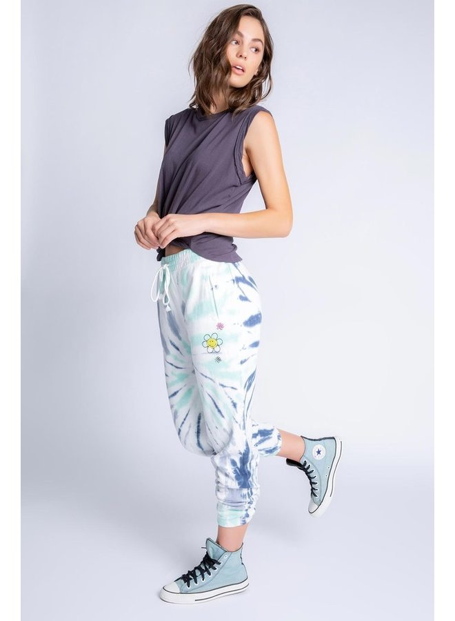 Smiley Daydream Doodles Banded Pant