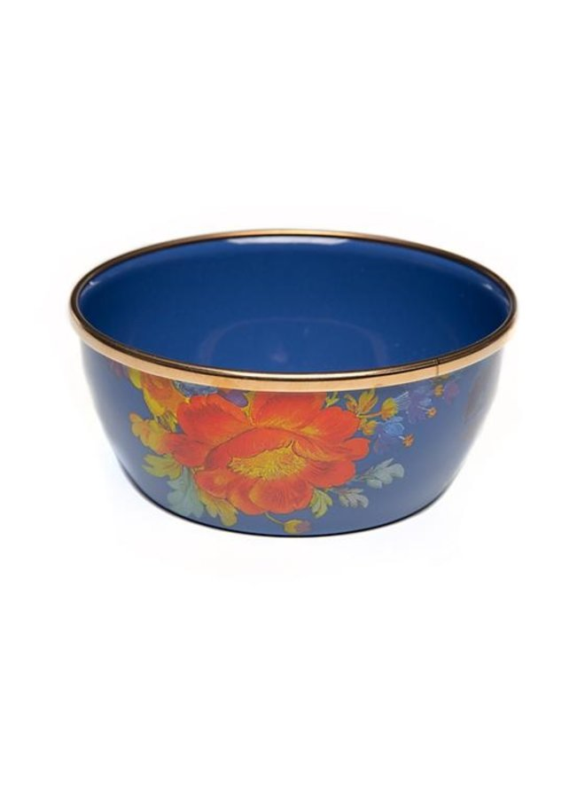 Flower Market Pinch Bowl - Lapis