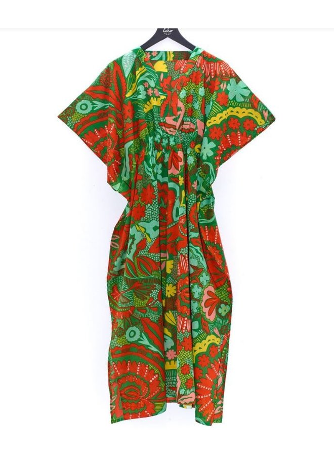 Hypnotic Floral Maxi Butterfly