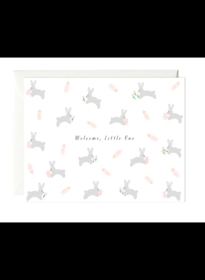 Bunnies Baby Card