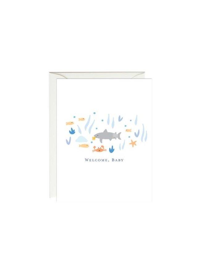 Baby Shark Baby Card