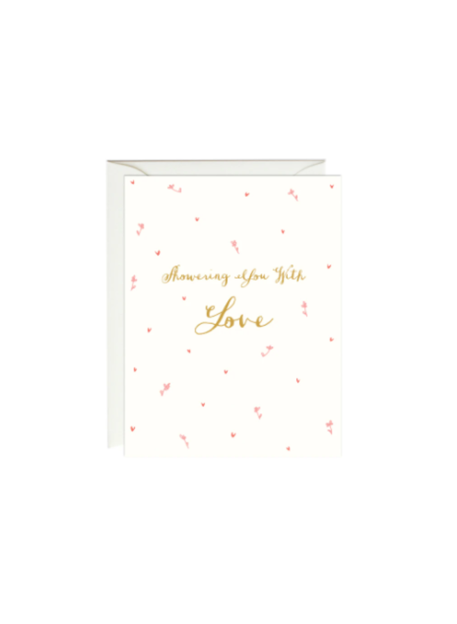 Showering Love Gold Foil Card