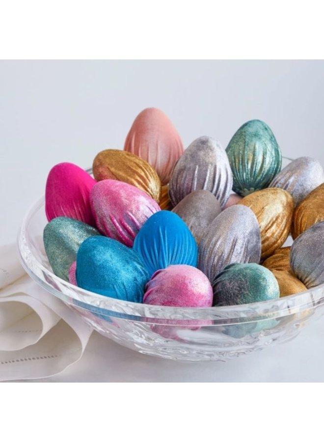 Handmade Velvet Eggs