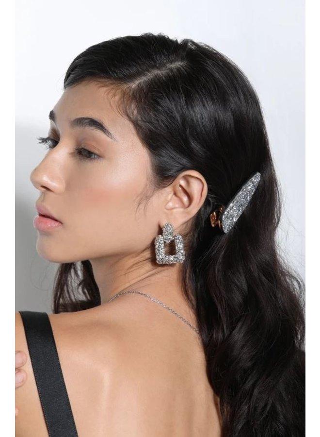 Crystal Shimmer Hair Clip
