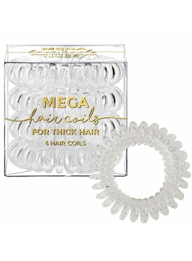 Transparent Mega Hair Coil